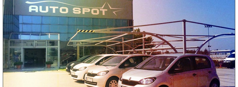 """5 """"αδερφάκια"""" SKODA Citigo στον στόλο ενοικιάσεων της AUTO SPOT"""