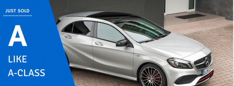 Just Sold | Mercedes-Benz A-Class