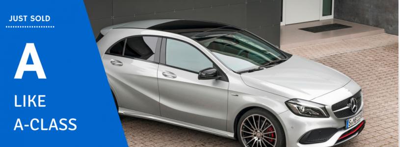 Just Sold | Mercedes-Benz A-Class
