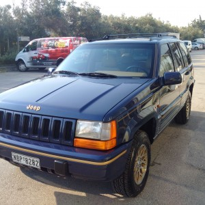 Jeep Grand Cherokee V8 280HP  '95